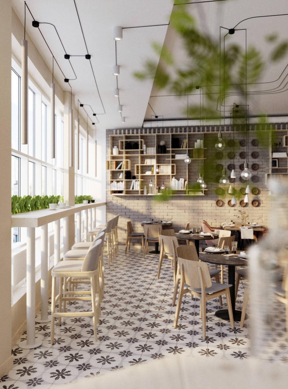 """Дизайн интерьера нового кафе """"Basement"""" от студии """"ПК"""""""