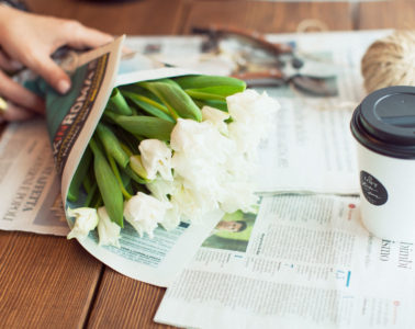 Цветы и кофе в Loft Flowers Оренбург
