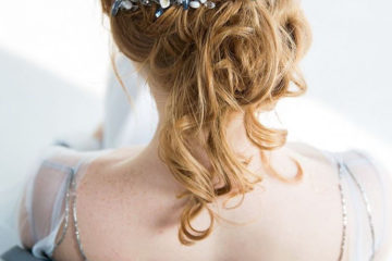 Свадебная прическа в Оренбурге