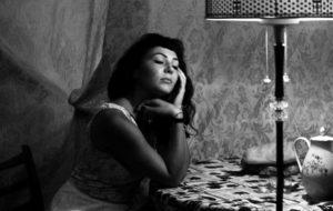 Черно-белая художественная фотография